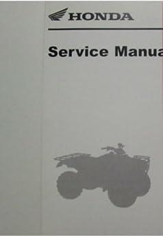 1999 2000 honda trx300ex trx 300ex service shop repair manual brand rh amazon com honda 300ex service manual pdf honda 300ex service manual