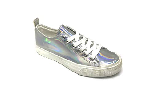 Emma Shoes - Emma Shoes Hologram Sneakers for Women; Casual Shoes for Women in