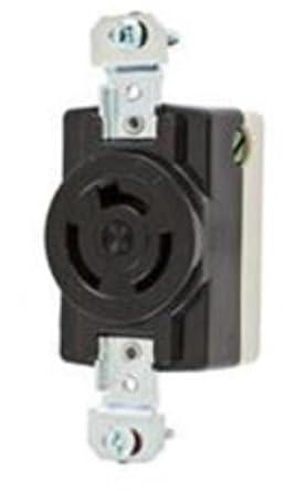 hubbell wiring systems hbl7310bg twist lock single urea. Black Bedroom Furniture Sets. Home Design Ideas