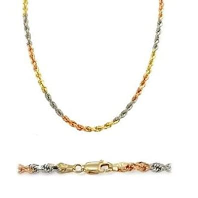 color product necklace graduated tri gold stefano oro byzantine tone