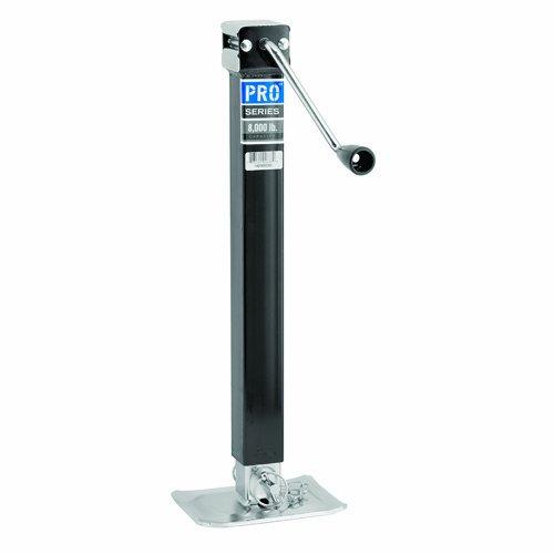 Reese 1400850383 Pro Series Square Jack - 8000 lbs Drop Leg Trailer Jack