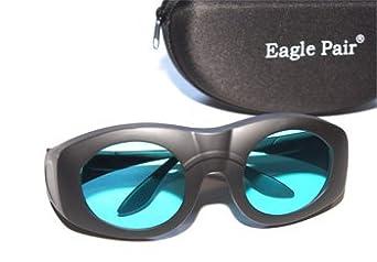 Gafas de protección láser rojo e infrarrojo de 680 a 1100nm OD 7+ (Homologadas CE) para depilación con láser de diodo