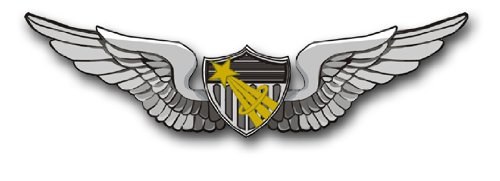 - Military Vet Shop US Army Astronaut Wings Vinyl Transfer Window Bumper Sticker Decal 3.8