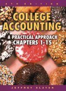 College Accounting A Practical Approach Chapters 1 to 15 8th EDITION pdf epub