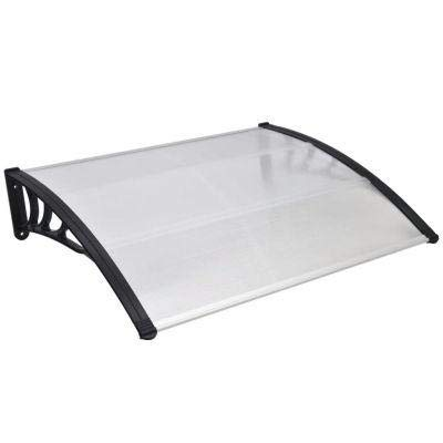 Window Door Awning, Polycarbonate Door Canopy Window Awning Door Canopy for Window Door Decoration Protection by Umiway