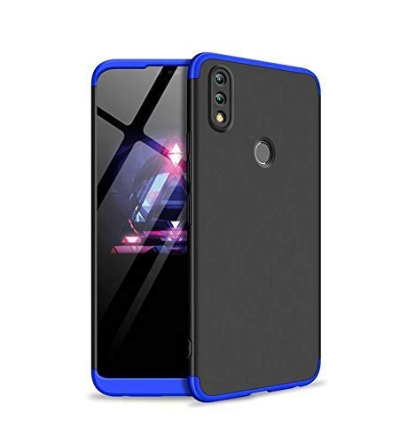 premium selection bbdc9 0ad8d SPAZY CASE® Huawei Honor 10 Lite Cover Case Ull Body 3 in 1 Slim Fit  Complete 3D 360 Degree Protection Hybrid Hard Bumper Back Case Cover for  Huawei ...