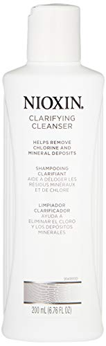 Nioxin Clarifying Cleanser for Removal of Chlorine and Mineral Deposits, 6.8 Ounce