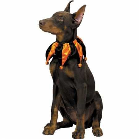 Vo-Toys Halloween Jester Collar Large