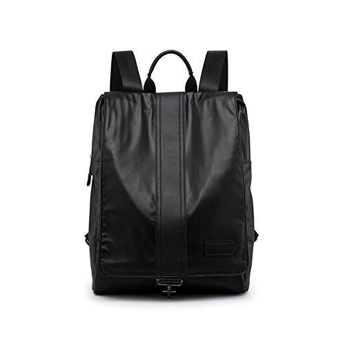 Men's Casual Bag Black Backpack Waterproof Business Casual Backpack Student Bag Travel Handbag from Jasooo