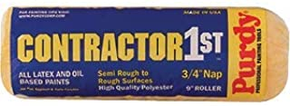 """product image for Purdy 14C688094 9"""" Contractors 1st 3/4"""" Nap Roller Cover - 15ct. Case"""