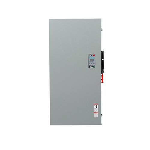 (Siemens GF325NRA General Duty SAFETY Switch, Fusible, 3 Pole, 240 Volt, 400 Amp, Outdoor Rated)
