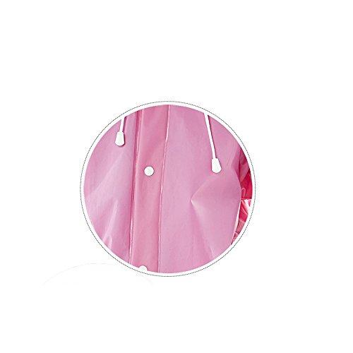 Outdoor Rosa C Addensare Dimensioni Viola Grande Trasparente L colore p k Per Xing Purple zi Xl raincoat Bambini Taglia Lungo Impermeabile s Purple L M Cappello Trekking Poncho EBvw1B84qx
