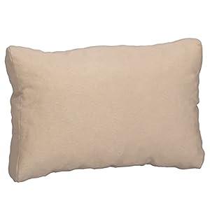 Beo 069939 – Cojín de salón para Espalda, Elegante y fácil de Limpiar, cómodo, 60 x 40 cm, 20 cm de Grosor