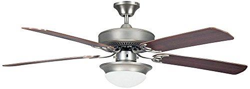 Concord Fans Heritage Fusion ES Ceiling Fan with CFL Light (Fusion Ceiling Light)