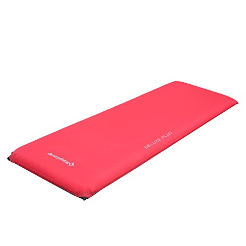 KingCamp DELUXE PLUS Self-Inflating Camp Pad, 4 inches Thick