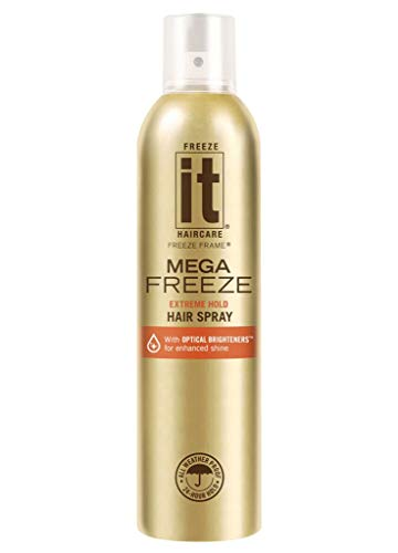 (Freeze It, Mega Freeze Hair Spray, 10)
