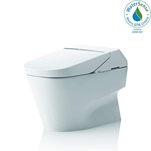 Toto MS992CUMFG#01 Neorest 1.0 GPF and 0.8 GPF 700H Dual Flush Toilet, Cotton White