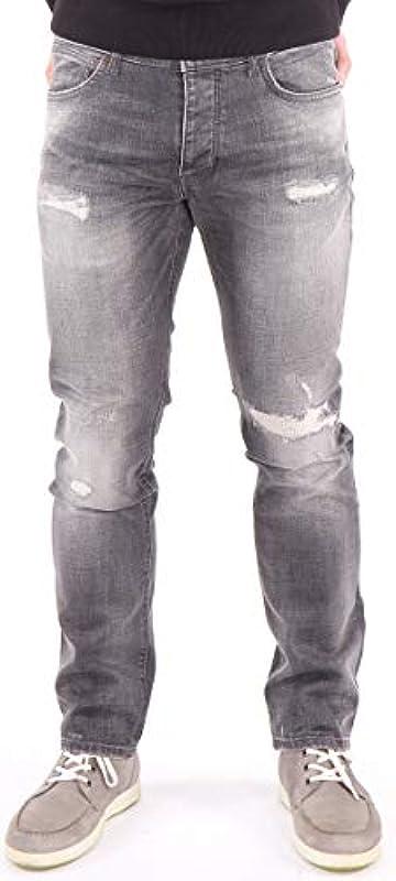 Wrangler Spencer Ripped Ashes spodnie jeansowe męskie w stylu vintage: Odzież