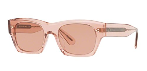 (Authentic Oliver Peoples 0OV 5376 SU ISBA 1639P0 WASHED ROSE Sunglasses)