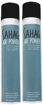 John Sahag Air Power Hair Spray 2 Pack by John Sahag
