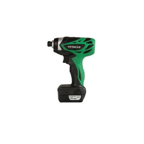 Hitachi WH10DFL 10.8V Cordless HXP Lithium-Ion Micro Impact Driver Kit (Certified Refurbished)