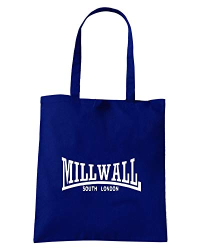 WALL MILL Navy OLDENG00343 Blu Borsa LONDON Shopper SOUTH XxqzwO
