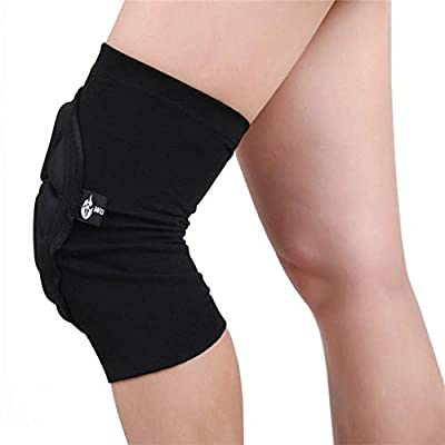 Protective Knee Pads for Work, MLSice Anti-Slip Collision Avoidance Volleyball Roller Skating Knee Sleeve Protection Outdoor Climbing Sports Riding Snowboarding Protector for Women Men: Electronics