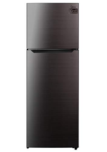 Midea Refrigerator, Black, 340 Litres, HD463FWES, 1 Year Warranty