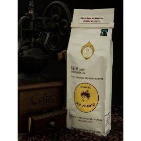 Doi Chaang Single Estate Coffee Roasted Beans AA Premium (Dark Roast) 250g.