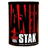 Universal Nutrition Animal Stak es la fuerza fórmula definitiva para deportistas y culturista. Animal Stak estimula la producción de hormona del crecimiento y testosterona del cuerpo, sin anabole esteroides prohibidos y perjudicial. tendrás m...