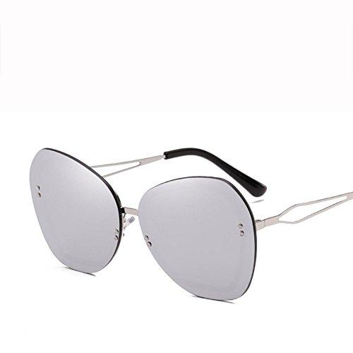 Diamante E Sol Protector Gafas Moda E GUOHONGCX Avant Care Eye Unisex Trend Wind Metal Gafas Sol De Irregular Marco De Protection Sports De Personalidad xqgHnY4n