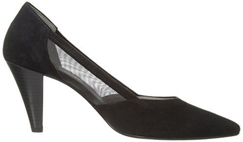Gabor Shoes 21.283.41_Gabor Damen Geschlossen Pumps Schwarz (schwarz (LFS rot))