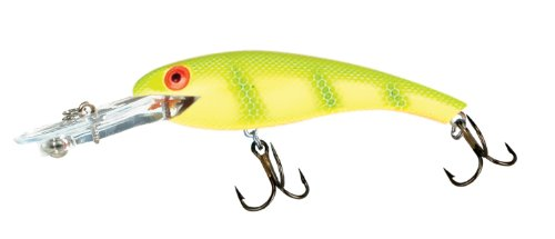 Cotton Cordell Magnum Wally Diver - Chartreuse Perch - 3 3/4 in