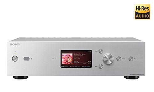 Sony HAPZ1ES Hi-Res Music Player with 1TB Hard Drive Silver