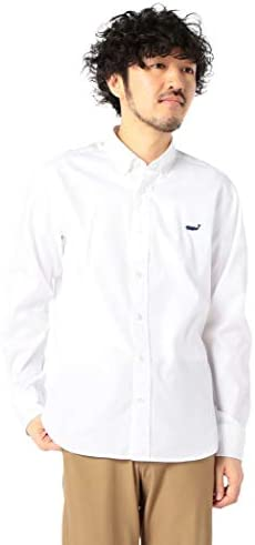 クジラ刺繍ボタンダウンシャツ 20SS 0-0086-1-51-010