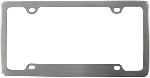 Custom Aluminum License Plate - 6