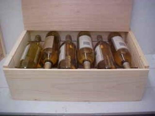 Twelve Bottle Wine Box with Slide Top Poole & Sons Inc.
