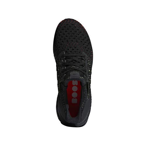 adidas Ultraboost Clima Shoe - Junior's Running 6 Black/Solar Red by adidas (Image #2)