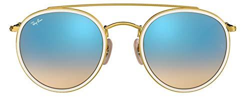 Rb3647n ban Sunglasses 51mm 4o Round Unisex 001 Bridge Double Ray vxHqwv
