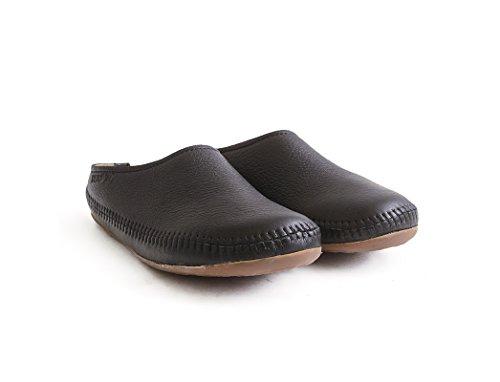 Haflinger Nero Adulti Indietro Aperto Unisex Pantofole Softino Uqt1xnq