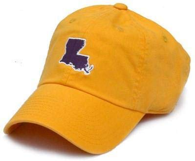 STATE TRADITIONS LA Baton Rouge Gameday Hat in Gold