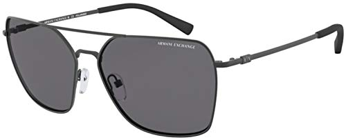 Armani Exchange Man Sunglasses, Grey Lenses Metal Frame, 60mm from A|X Armani Exchange