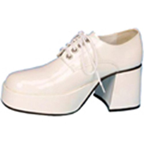 Uomo PleaserJazz02 Wht Brogue Pat b 77wRxOB