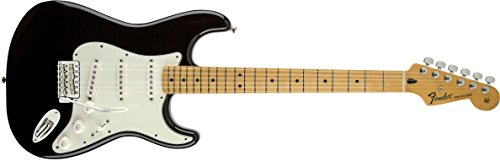Fender 팬더 전기 기타 Standard Stratocaster, Maple Fingerboard - Black