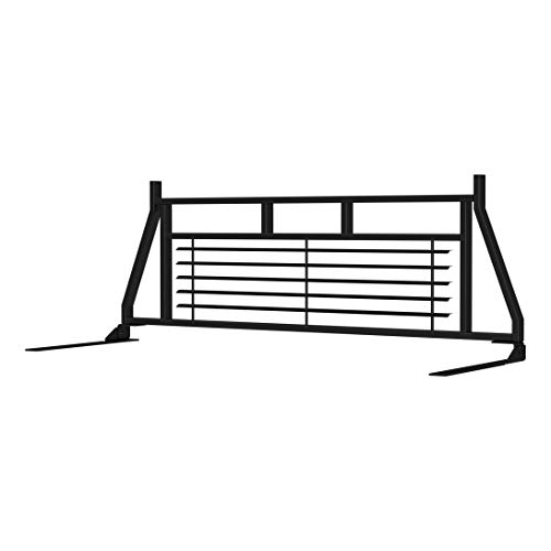ARIES 111000 Classic Heavy-Duty Black Steel Truck Headache Rack Cab Protector for Select Chevrolet, Ford, Dodge, GMC ()