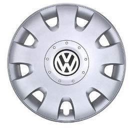 Volkswagen Original 4 Unidades Tapacubos Tapacubos Tapacubos 15 Golf V Touran: Amazon.es: Coche y moto