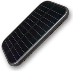 スマートマルチチャージ ソーラー ブラック (CB-G408BK)ミニライト・カードリーダー機能付き