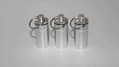 BMTick Auto Mini Geruchssicher TASCHENASCHENBECHER mit Deckel (für Draußen) (3 Pack)