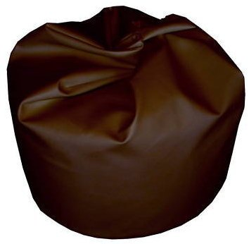 Bean bag cover in brown faux leather large standard beanbag unfilled with free liner!!