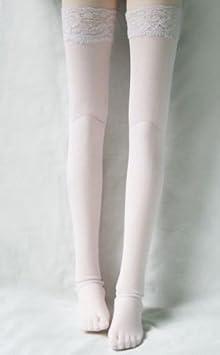 White Short Socks Stockings for 1//3 1//4 1//6 BJD MSD DOD AOD AS DD Luts Dollfie